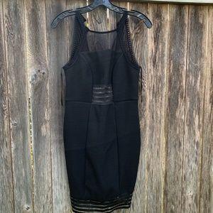 Top Shop  Sheer Panel Dress l Size 8